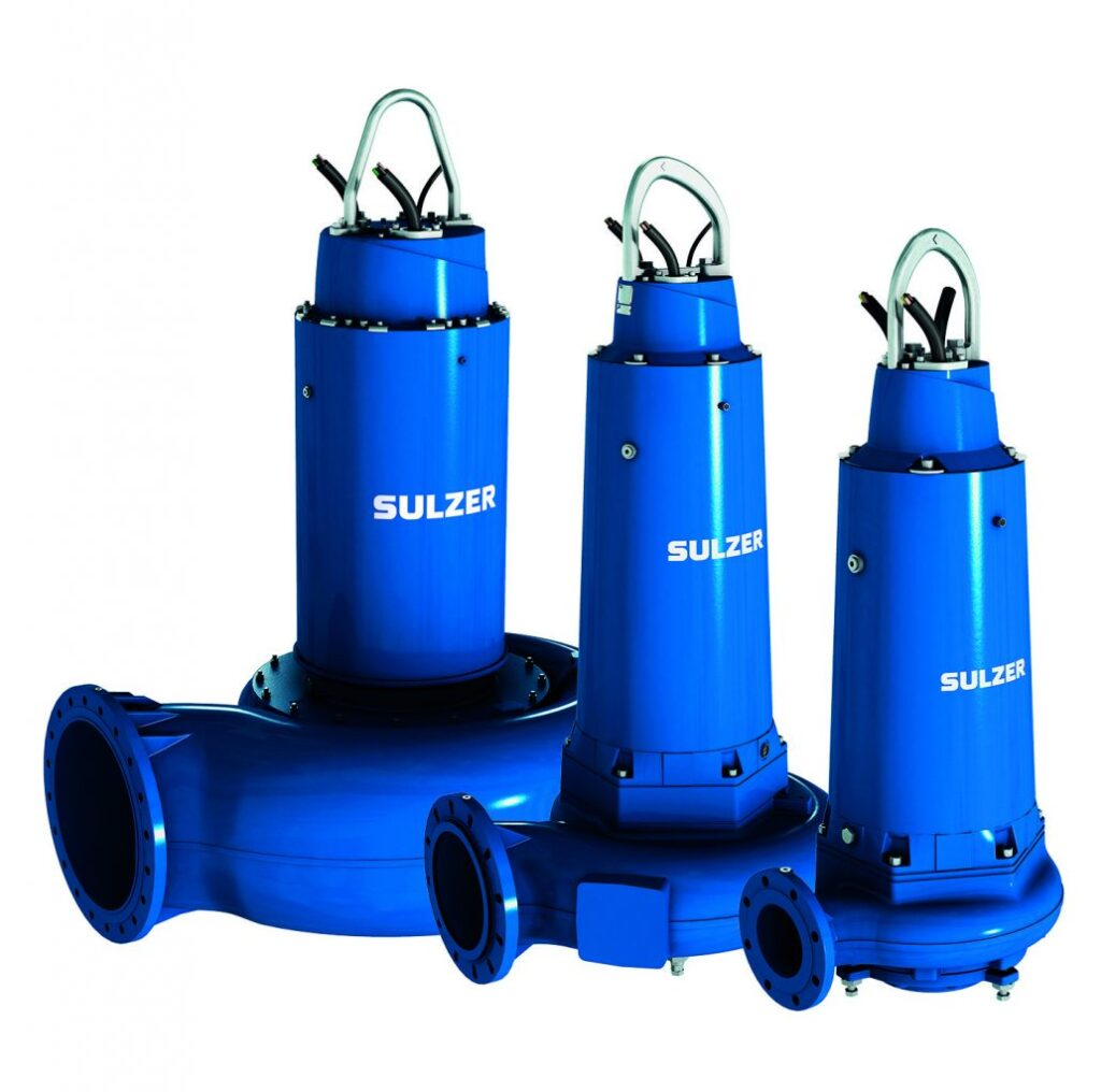 Submersible Municipal Sewage Pumps
