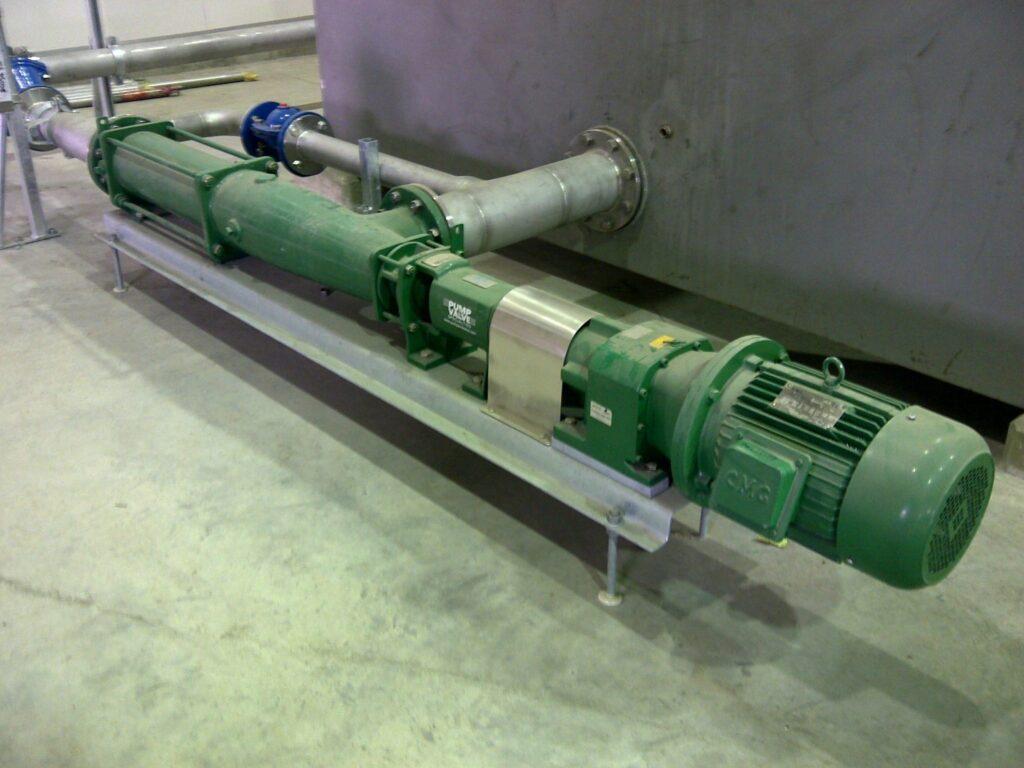 GBT Thickened Sludge Pumps