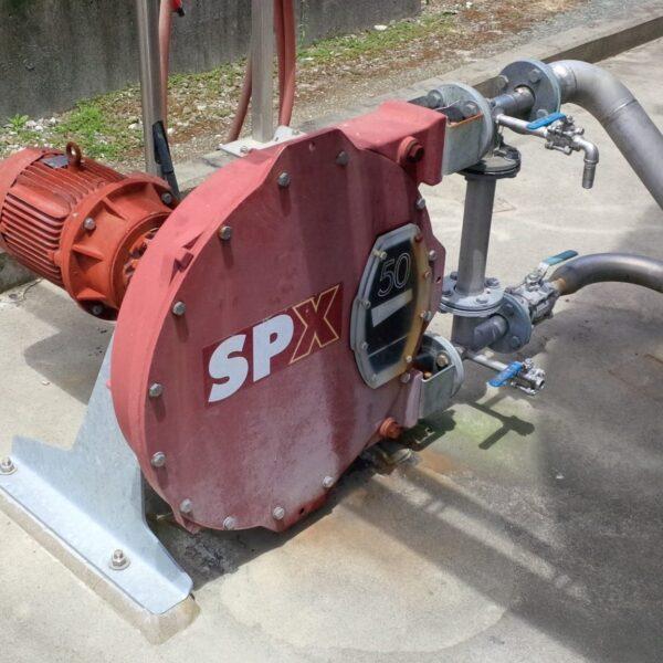 Verderflex hoses in Bredel SPX series pumps