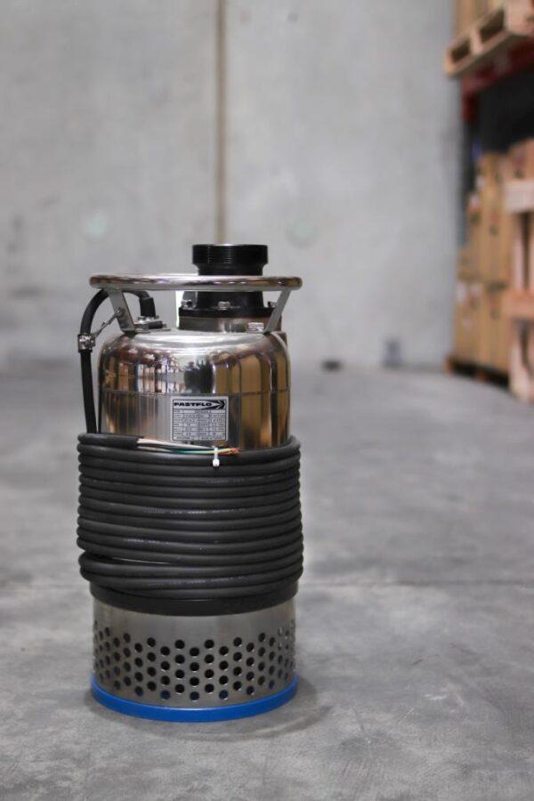 Fastflo Dewatering Pump Photo Side View