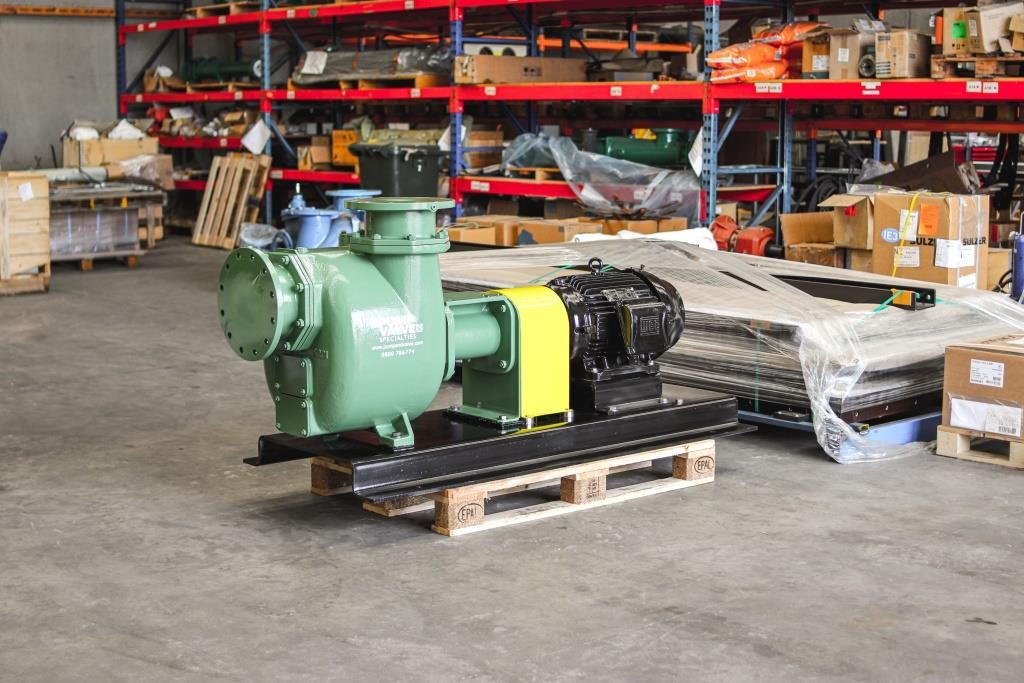 Self-Priming Centrifugal Pumpset for stormwater