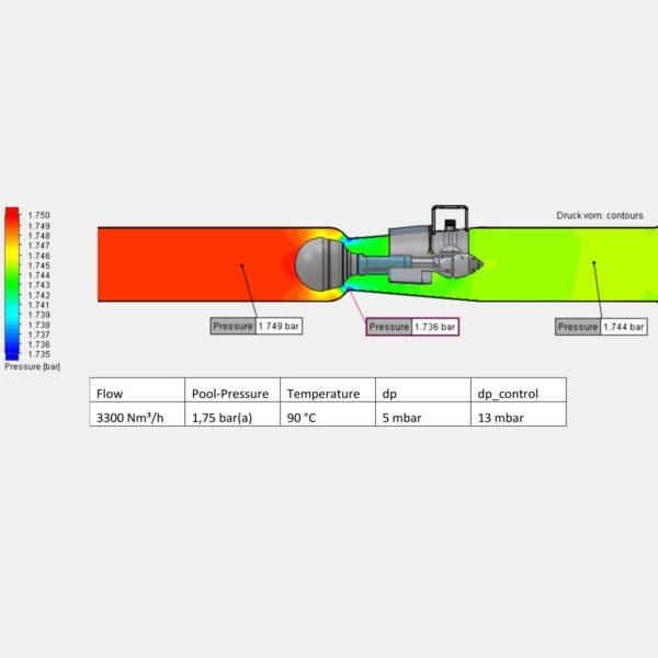 Jet Control Valves pressure