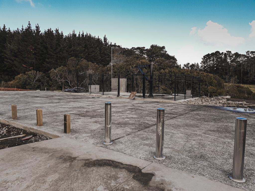 Auckland Civil Pumpstation for 150 lots