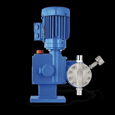 LEWA Ecosmart Diaphragm Metering Medium Pressure Pump side