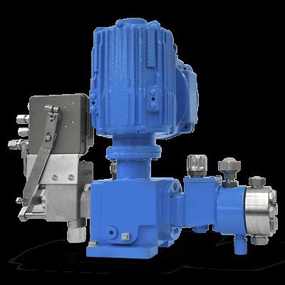 LEWA Micro Metering Reciprocating Pump side