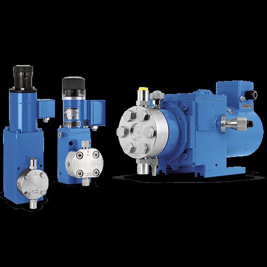 LEWA Micro Metering Reciprocating Pumps