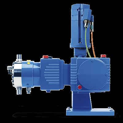 LEWA Reciprocating Positive Displacement Metering Pumps - Intellidrive Range side