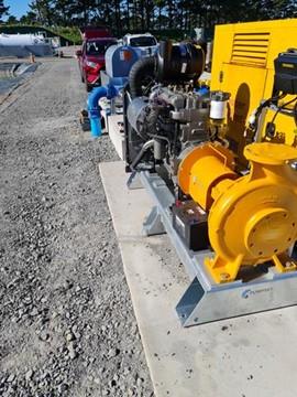 Diesel Pump for Fire Training in Taranaki | Pump & valve Specialties Ltd