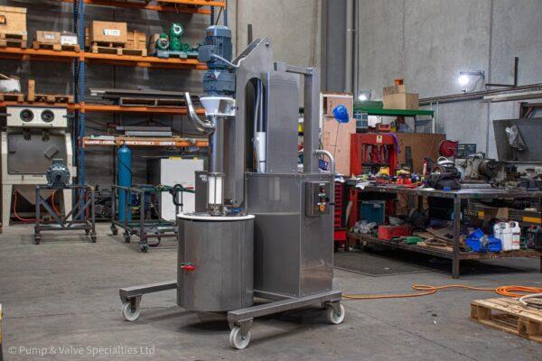 APT Drum Unloader - Pump & Valve Specialties Ltd